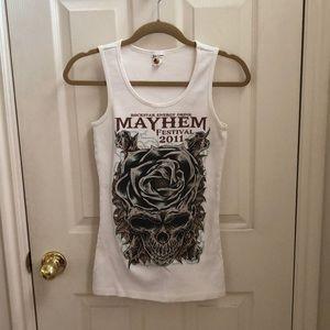 Mayhem Festival Tank